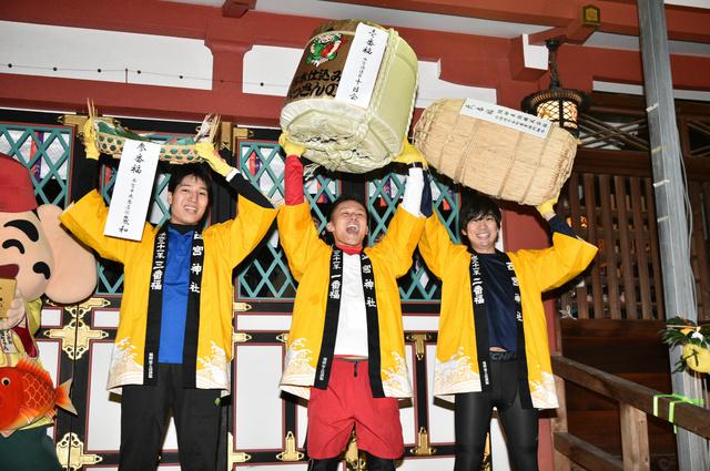 参拝一番乗りめざし境内ダッシュ、西宮神社で福男選び:朝日新聞デジタル