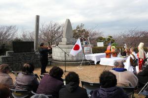 千葉)勝浦市で米国船ハーマン号の慰霊祭開く