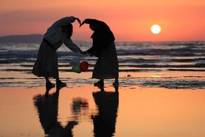 (時紀行:時の余話)清掃20年以上、地元が愛した浜