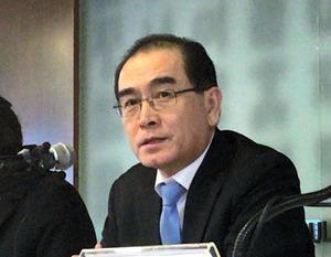 亡命の元北朝鮮外交官が会見 米朝会談「米国は説得を」:朝日新聞デジタル