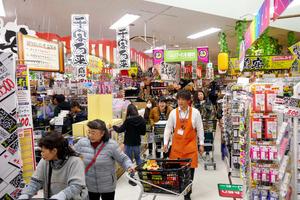c27ace40c55 ユニー店舗、ドンキ化進行中 生鮮品扱わずに品数2割増:朝日新聞デジタル