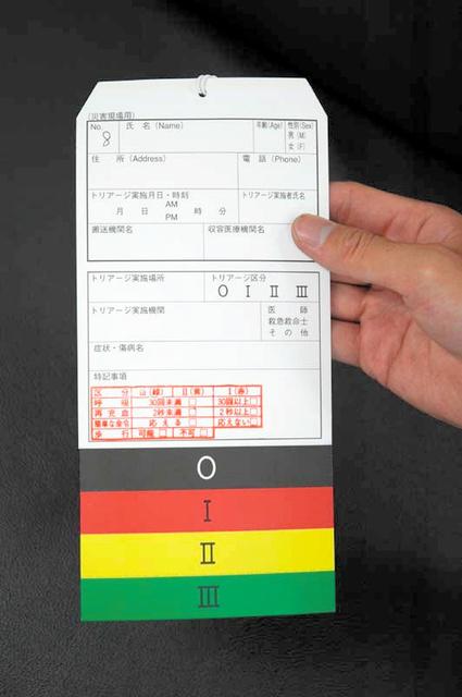 災害トリアージ、ミスの責任問えるか 法制化を議論へ:朝日新聞デジタル