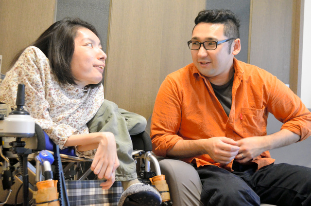 寺嶋千恵子 寺嶋千恵子さん(左)と成人さん=名古屋市天白区