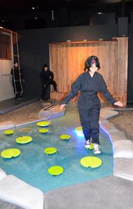 神奈川)「忍務」遂行! 小田原城に忍者体験館オープン