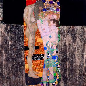 「女の三世代」=ローマ国立近代美術館蔵 Roma, Galleria Nazionale d'Arte Moderna e Contemporanea. Su concessione del Ministero per i Beni e le Attivita Culturali