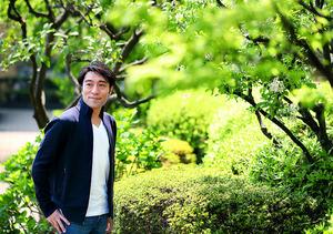 「オフの時は、息子と遊んだり、居酒屋で飲んだり。好きな酒は麦焼酎」=倉田貴志撮影