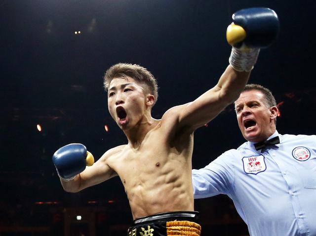 ボクシングの井上尚弥が2冠王者 ...