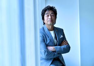奈良橋陽子さんについて「夢を語り、一緒に喜んでくれるピュアな方ですね」=篠塚ようこ撮影
