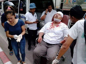 白昼バットで襲撃、車に放火…民主派襲撃、タイで相次ぐ:朝日新聞デジタル