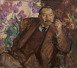 フランク・ブラングィン「松方幸次郎の肖像」1916年 国立西洋美術館蔵(旧松方コレクション)
