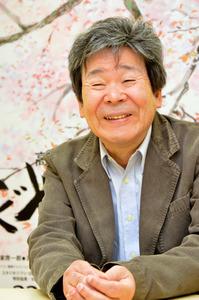 高畑勲監督。「かぐや姫の物語」公開時にインタビューした時のものです=2013年11月