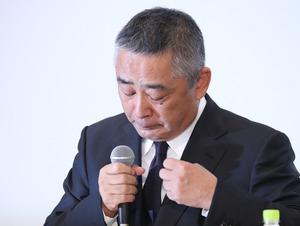 「岡本社長 会見」の画像検索結果