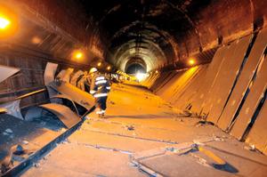崩落の笹子トンネル、実物大模型を展示へ 再発防止向け