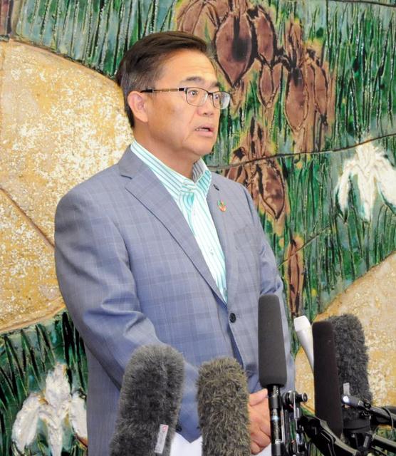 発言 大村 知事 「河村さん、いてもいなくても一緒」 大村知事が会見、名古屋市長選の祝福なし