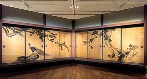 大乗寺障壁画の再現展示
