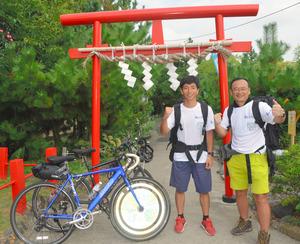 静岡)兵庫から自転車と徒歩で富士頂上へ450キロ