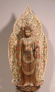 「十一面観音菩薩立像」=国宝 奈良・室生寺蔵