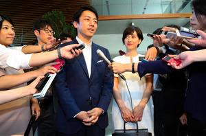 初入閣の進次郎氏、その損得勘定は 担当記者が読み解く:朝日新聞デジタル