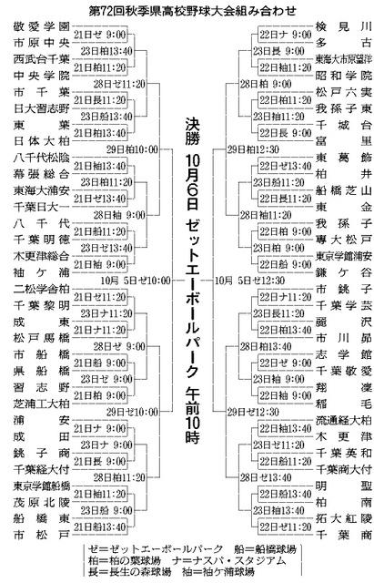 高校 野球 2019 千葉