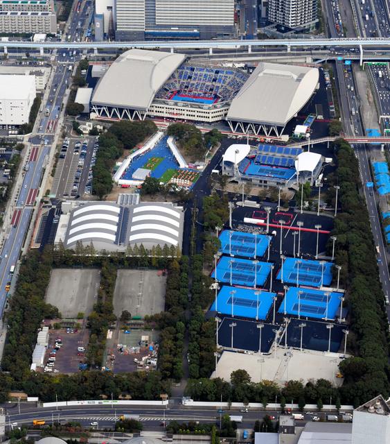 聖地」で改修後、初の大会 有明テニスの森公園 - 東京オリンピック ...