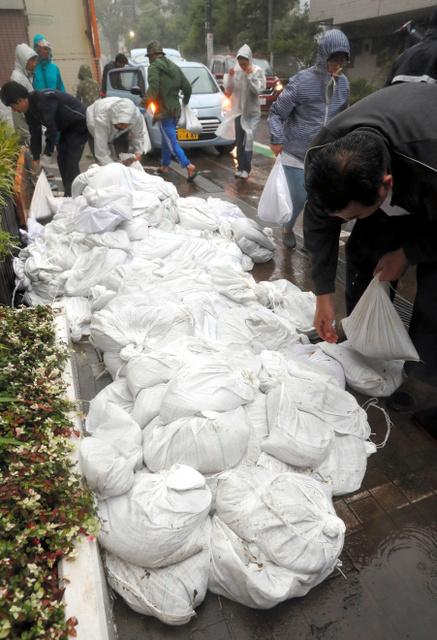 海抜ゼロ地帯の江戸川区 避難所に次々 心細かった 台風19号