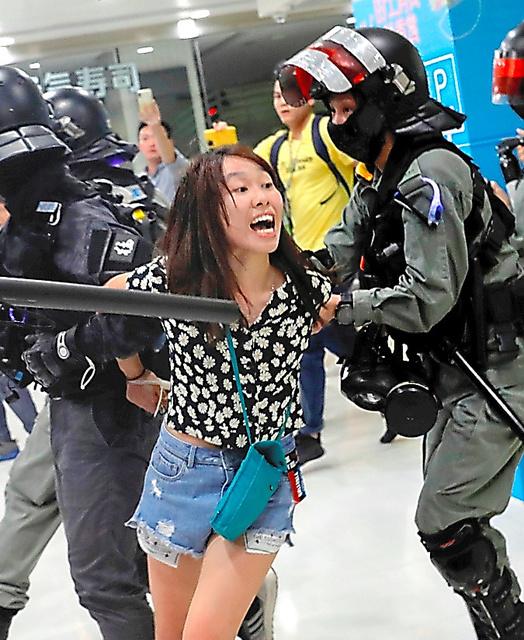 拘束3千人超す 香港デモ、警察が強硬化:朝日新聞デジタル