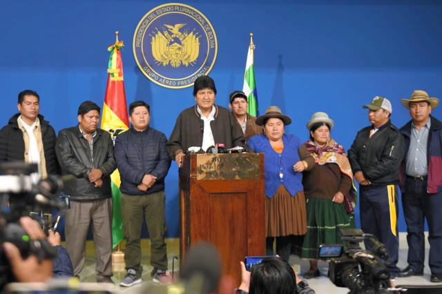 大統領 ボリビア