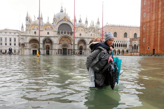 水没 ヴェネツィア