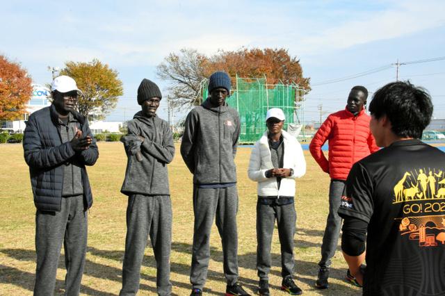 南 スーダン 前橋 1年後の東京五輪に向けて、前橋に滞在続ける南スーダンの選手団