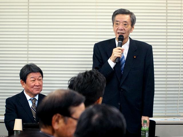 自民・竹下氏、11カ月ぶり復帰「もう失うものはない」:朝日新聞デジタル