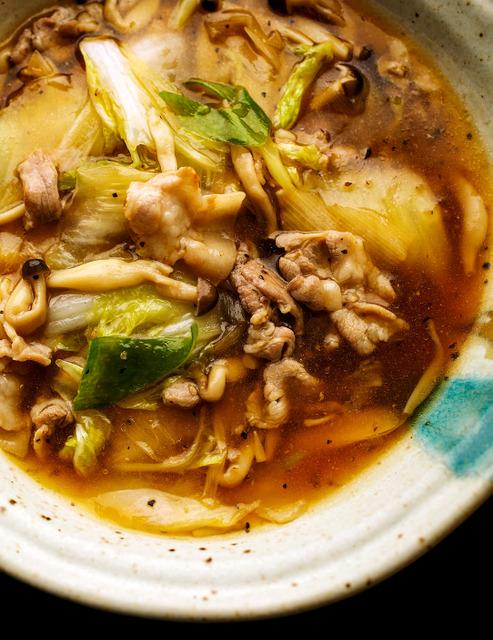 豚肉と白菜のうまみ溶け合う 優しくまろやか中華あん ごはんラボ