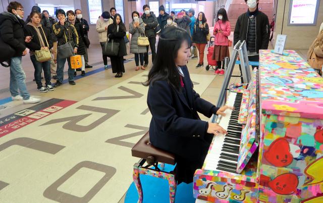 ストリートピアノ 名古屋 設置場所