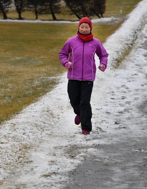 北海道)北の大地で走り続ける元マラソン女王 - 一般スポーツ,テニス ...