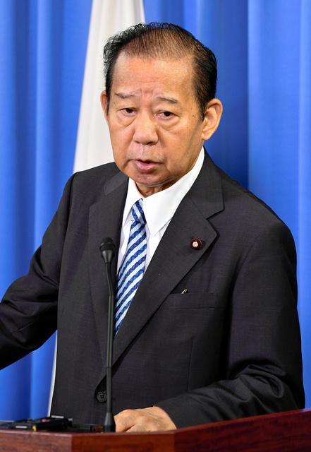 二階氏が語る政治家像「瞬時に相手の求め分からなきゃ」:朝日新聞デジタル