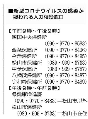 愛媛 県 コロナ ウイルス 感染 愛媛県における今後の新型コロナウイルス感染症に対する