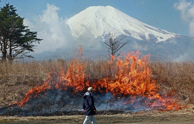 火事 演習 場 北 富士