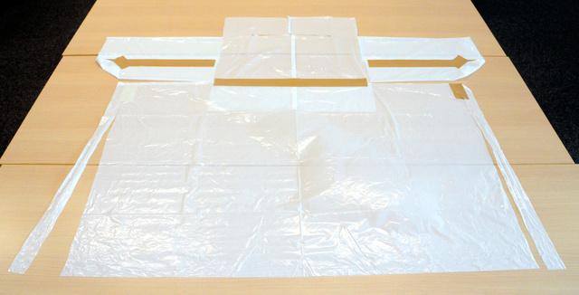 ゴミ 袋 防護 服 作り方