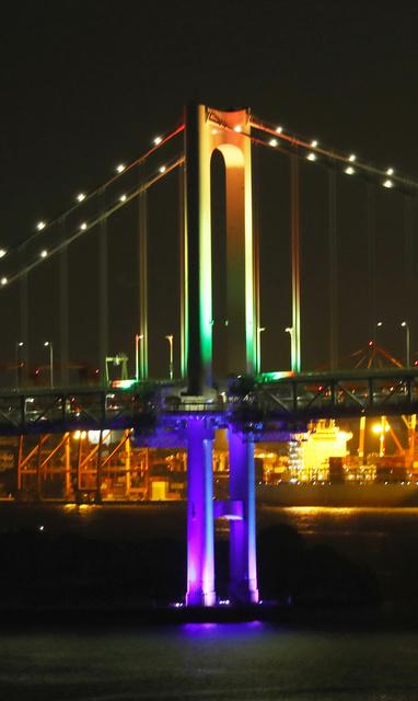 アラート ブリッジ 東京 レインボー