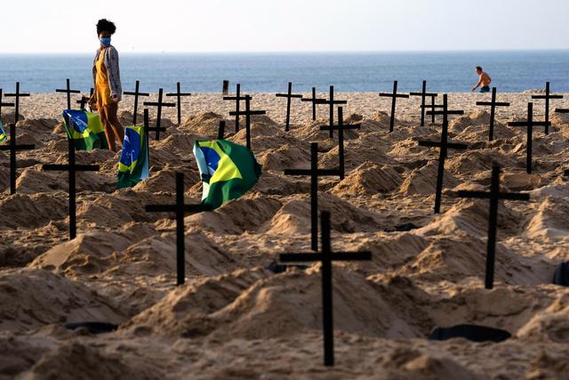 ブラジル 感染 者 数 推移