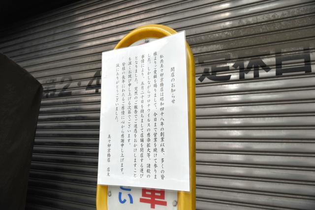 東京美々卯 倒産