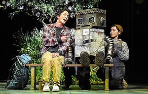 劇団四季「ロボット・イン・ザ・ガーデン」=阿部章仁氏撮影