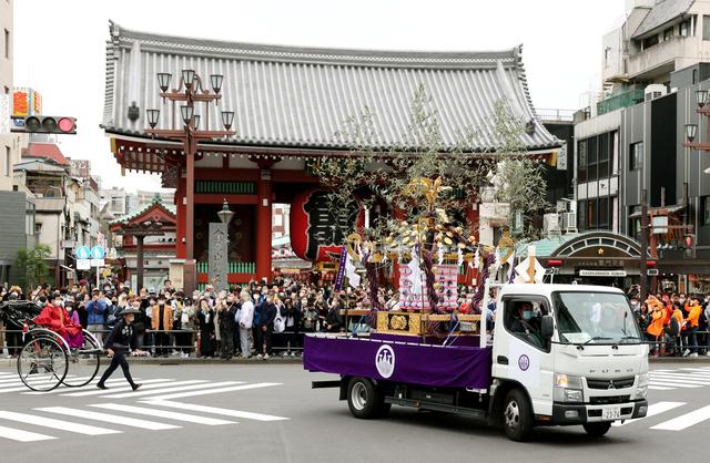 浅草 三 社 祭 2020