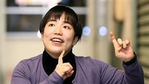 ゆりやんレトリィバァさん=東京・新宿、嶋田達也撮影