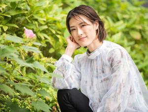 如月蓮さん。2004年に宝塚歌劇団に入団した90期生=横関一浩撮影