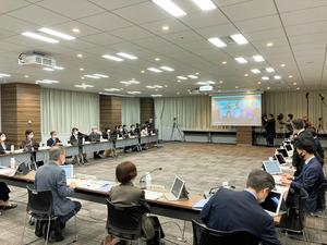 出生前検査のあり方を議論する専門委員会=2020年10月28日午前10時5分、東京都港区、市野塊撮影