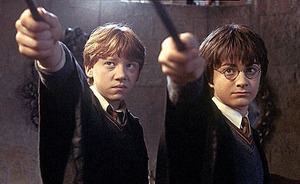 30日夜9時から日テレ系で放送される「ハリー?ポッターと秘密の部屋」 TM & (C) 2002 Warner Bros. Ent. , Harry Potter Publishing Rights (C) J.K.R.