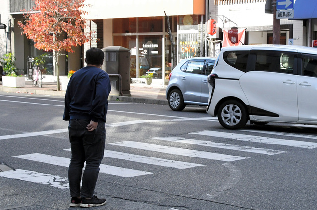 一時 停止 ランキング 横断 歩道