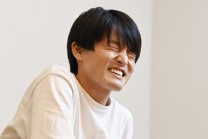 福徳秀介さん=2020年10月13日、東京都千代田区の小学館、相場郁朗撮影