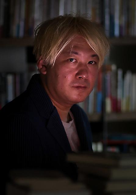 津田大介さん=杉本康弘撮影