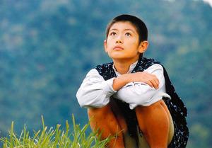 映画「森の学校」で雅雄役を演じた子役時代の三浦春馬さん=西垣吉春監督提供